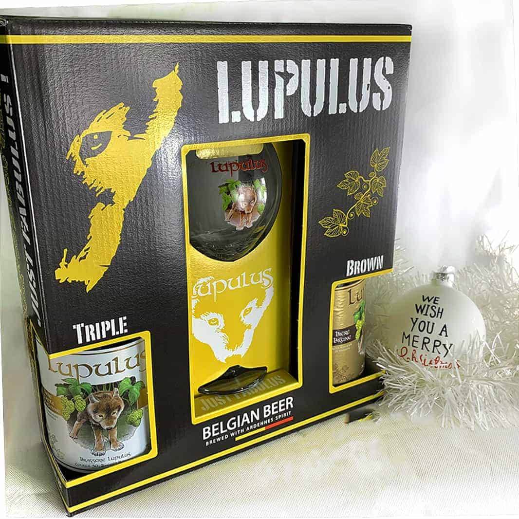 Cofanetto Lupulus Special – 2 Bott. 75 cl. + 1 Bicchiere